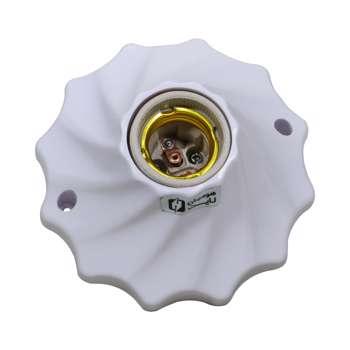 سرپیچ لامپ سقفی هومیان لایت مدل رزت