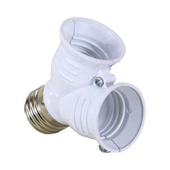 تبدیل 1 به 2 سرپیچ لامپ E27