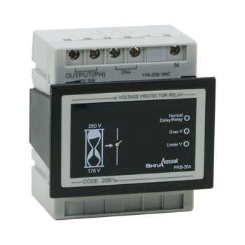 محافظ ولتاژ 20 آمپر شیوا امواج مدل 20B1
